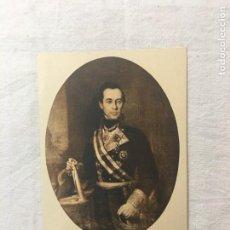 Postales: TARJETA POSTAL. EL ALMIRANTE D. SEGUNDO DÍAZ DE HERRERA. CONDE DE RÍO MARTIN. HAUSER Y MENET. C.1930. Lote 263069670