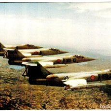 Cartoline: EJÉRCITO DEL AIRE - F-104 - GRÁFICAS VIRGEN DE LORETO - 151X102 MM.. Lote 264514514