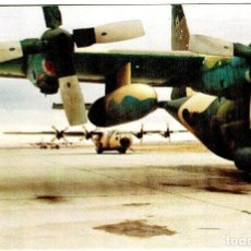 """Cartoline: EJÉRCITO DEL AIRE - C-130 """"HÉRCULES"""" - GRÁFICAS VIRGEN DE LORETO - 151X102 MM.. Lote 264516259"""