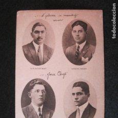 Postales: MARTIRES DE LEON-MEXICO-NICOLAS NAVARRO-EZEQUIEL GOMEZ-VALENCIA GALLARDO...-POSTAL ANTIGUA-(81.567). Lote 268461364
