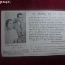 Postales: DON JUAN DE BORBÓN. TARJETA POSTAL. LA MONARQUÍA, BENIGNO VARELA. Lote 269008699