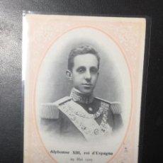 Postales: ALFONSO XIII CORONACIÓN 1905. Lote 269612433