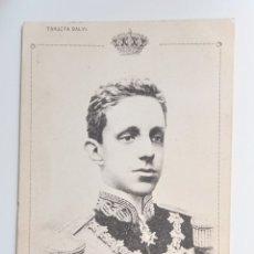 Postales: POSTAL FOTOGRÁFICA ALFONSO XIII. 1905 BORBONES REALEZA. Lote 270228123