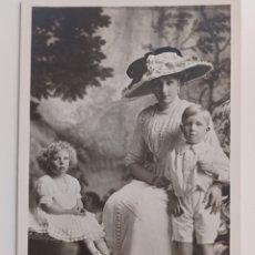Postales: FAMILIA REAL VICTÒRIA EUGENIA REALEZA 1912 BORBONES. Lote 270228463