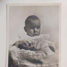 Postales: POSTAL FOTOGRÁFICA BORBONES FAMILIA REAL DON JUAN PRÍNCIPE DE ASTURIAS 1912. Lote 270229053