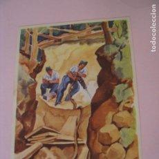 Postales: POSTAL DE SUIZA. SERIE UNSERE SOLDATEN AN DER ARBEIT. IL. E. DE COULON. SEGUNDA GUERRA MUNDIAL.. Lote 270399083