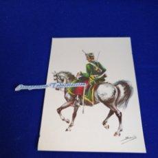 Postales: UNIFORMES EJÉRCITO ESPAÑOL NUMERO 11. Lote 270591053