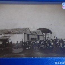 Postales: (PS-65901)POSTAL FOTOGRAFICA DESCONOCIDA-CAMPO DE AVIACION.ANGARES. Lote 270903043