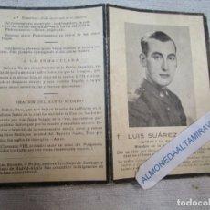 Cartes Postales: GUERRA CIVIL LUIS SUAREZ EIRE - MIEMBRO JUVENTUD CATOLICA - FRENTE TERUEL 1938 + INFO. Lote 278432243
