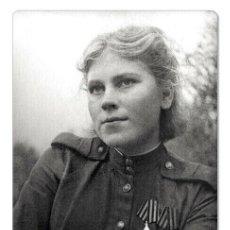 Postales: WWII ROZA SHANINA WOMAN WAR SNIPER SU USSR NEW UNPOSTED POSTCARD. Lote 278727708