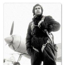 Postales: WWII MERESIEV SOVIET FIGHTER PILOT HERO SU USSR NEW UNPOSTED POSTCARD. Lote 278728628