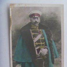 Postales: CARLISMO : POSTAL PRETENDIENTE CARLISTA D. JAIME DE BORBON CON UNIFORME CABALLERIA ALEMAN, PP. SIGLO. Lote 279464803