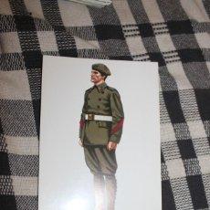 Postales: POSTAL Nº 7 CABO DE ARTILLERIA EN UNIFORME DE PASEO - ESPAÑA 1929. Lote 295766793