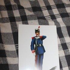 Postales: POSTAL Nº 9 SOLDADO DE LA MILICIA NACIONAL DE MADRID GALA - ESPAÑA 1931 - 1936. Lote 295767078