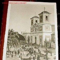 Postales: ANTIGUA POSTAL DE AGUILAS (MURCIA) - IGLESIA PARROQUIAL DE SAN JOSE - ED. ARRIBAS. Lote 557825