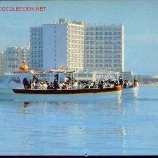 Postales: 92-LA MANGA.MURCIA-HOTEL DOBLEMAR CASINO,VISTA DESDE EL MAR MENOR.. Lote 11530054
