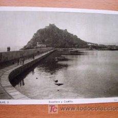 Postales: AGUILAS - ESCOLLERA Y CASTILLO - EDICIONES ARRIBAS. Lote 15069344