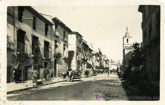 POSTAL DE LORCA Nº8, SAN FRANCISCO, CIRCULADA (Postales - España - Murcia Moderna (desde 1.940))
