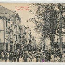 Postales: (PS-1290)POSTAL DE CARTAGENA-CALLE DEL DUQUE. Lote 5444328