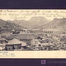 Postales: POSTAL DE CARTAGENA (MURCIA): ARSENAL Y DIQUE (ED.HAUSER Y MENET NUM.1157). Lote 6178601