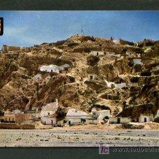 Postales: PUERTO LUMBRERAS *PANORÁMICA DE LAS CUEVAS* ED. A. SUBIRATS CASANOVAS Nº 5, ESCUDO MURCIA. NUEVA.. Lote 6315182