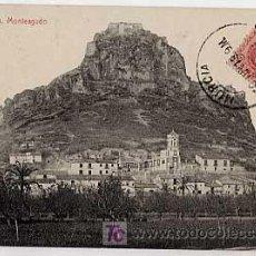 Postales: MURCIA. MONTEAGUDO. FOTOTIPIA THOMAS. CIRCULADA EN 1913. Lote 6376217