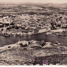 Postales: CARTAGENA. VISTA DEL PUERTO Y VISTA GENERAL. ESCRITA EN 1958. Lote 22781935