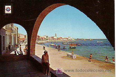 LOS ALCAZARES (MAR MENOR. MURCIA).- PLAYA Y ESPEJO (Postales - España - Murcia Moderna (desde 1.940))