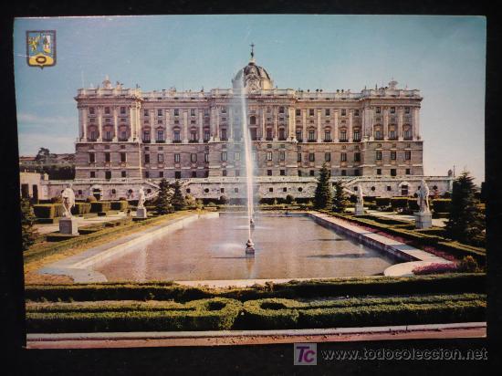 PALACIO DE ORIENTE. SIN CIRCULAR (Postales - España - Murcia Moderna (desde 1.940))
