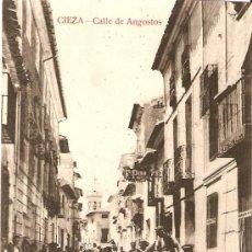 Postales: CIEZA.MURCIA.CALLE DE ANGOSTOS. Lote 10878575