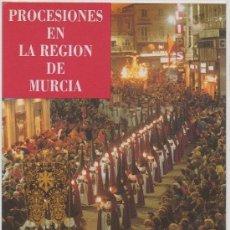 Postales: TARJETA POSTAL DE PROCESIONES EN LA REGION DE MURCIA SEMANA SANTA 1990. Lote 9361695