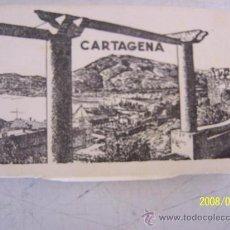 Postales: CARPETITA ( 6X9.5 CM) CON 12 VISTAS DE CARTAGENA,HA COLOR -GARCÍA GARRABELLA Y CÍA-ZARAGOZ-SIN FECHA. Lote 27344577