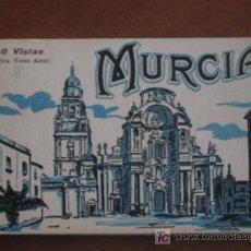 Postales: MURCIA. CARNET DE L. ROISIN DE 20 POSTALES, HAY 19, FALTA 1, LA NÚMERO 15. Lote 26118688