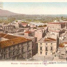 Postales: MURCIA.VISTA GENERAL DESDE EL CAMPANARIO. Lote 23186147