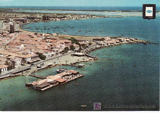 MURCIA Nº 2.LA MAR MENOR. VISTA AEREA (Postales - España - Murcia Moderna (desde 1.940))