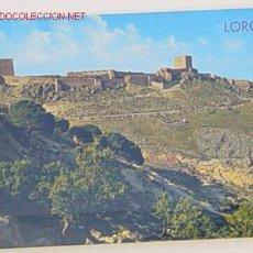Postales: POSTAL 26-LORCA-MURCIA.CASTILLO Y TORRE DEL ESPOLON.NO CIRCULADA.. Lote 997995