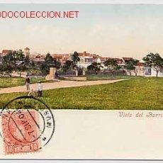 Cartes Postales: MURCIA CARTAGENA. VISTA DEL BARRIO DE PERAL. ED. PURGER & CO. CIRCULADA EN 1904. REVERSO SIN DIVIDIR. Lote 7364313