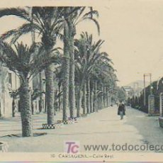Postales: CARTAGENA. CALLE REAL. . Lote 10334331