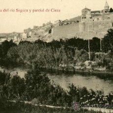 Postales: CIEZA (MURCIA).- UNA VISTA DEL RIO SEGURA Y PARCIAL DE CIEZA. ED. MANUEL ANIORTE. Lote 9936891