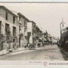 Postales: (PS-7365)POSTAL DE LORCA(MURCIA)-CALLE SAN FRANCISCO. Lote 9938694