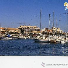 Postales: LOS ALCAZARES - AYUNTAMIENTO DE LOS ALCAZERES PUERTO DEPORTIVO Y CLUB NAUTICO -. Lote 9948145