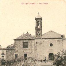Postales: CARTAGENA-SAN DIEGO. Lote 25949099