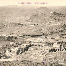 Postales: CARTAGENA-(MURCIA)EL CEMENTERIO . Lote 23490714