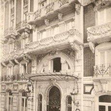 Postales: GRAN HOTEL DETALLE DE LA FACHADA PRINCIPAL. Lote 10623432