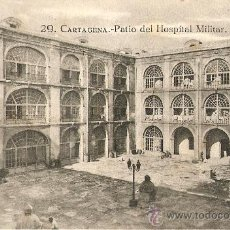 Postales - cartagena.patio del hospital militar - 26195861
