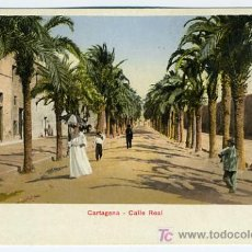 Postales: CARTAGENA ,MURCIA ,CALLE REAL , P27286. Lote 10730365