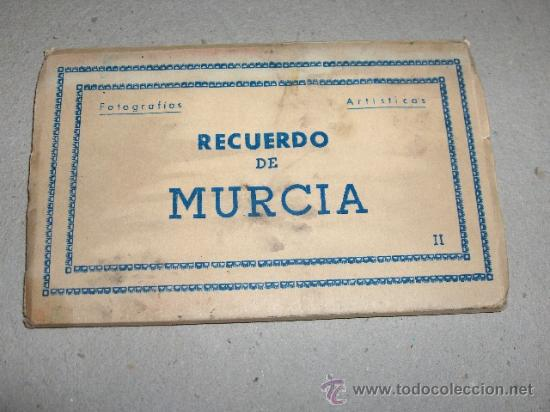 LIBRITO DE POSTALES DE MURCIA DE ARRIBAS (Postales - España - Murcia Antigua (hasta 1.939))