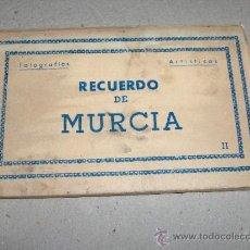 Postales: LIBRITO DE POSTALES DE MURCIA DE ARRIBAS. Lote 19865317