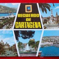 Postales: CARTAGENA - VARIAS VISTAS. Lote 11683382