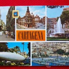 Postales: CARTAGENA - VARIAS VISTAS. Lote 11683400